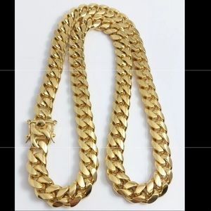 Other - 18K Gold Plated Stainless Steel  Necklace